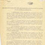 Relazione sull'attività partigiana di Prospero Giura, capo di gabinetto del Prefetto al momento dell'ingresso a Bergamo dei tedeschi