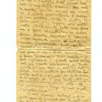 Lettera di don Agostino Vismara dopo l'udienza al Tribunale militare germanico