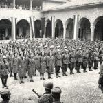 Il giuramento della Ausiliarie alla Caserma Seriate, 1944