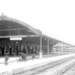 La stazione, foto d'epoca