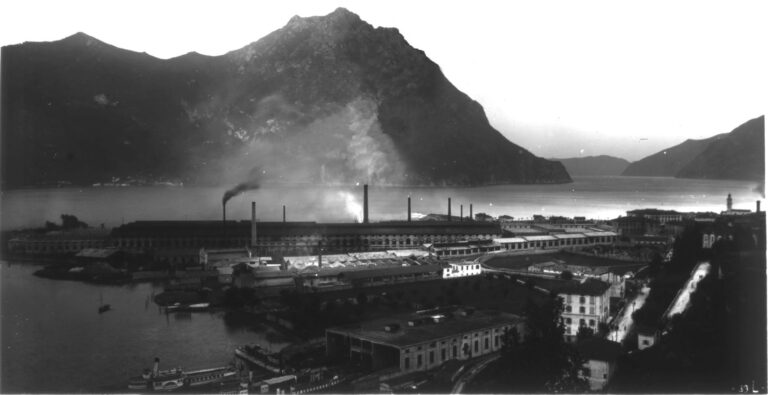 La fabbrica dell'Ilva, anni Trenta