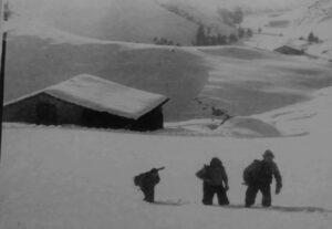Partigiani in Valpiana nell'autunno 1944