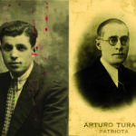 Fotografie di Arturo Turani e Giuseppe Sporchia, condannati a morte dal Tribunale militare germanico.