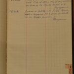 Pagina della rubrica presente nell'archivio della Camera di Commercio, per gentile concessione dell'Archivio di Stato