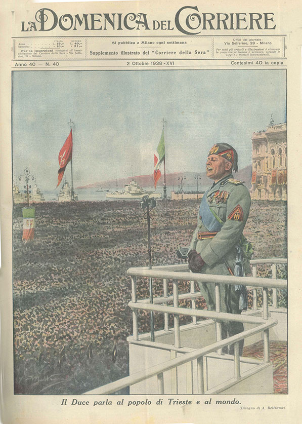 """""""La domenica del Corriere"""", 2 ottobre 1938"""