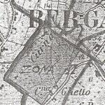 Pianta della città di Bergamo, particolare. Per gentile concessione del Comune di Bergamo