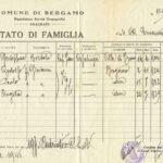 Stato di famiglia di Rodolfo Zelasco