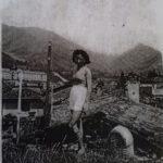 Ilusc Gerber internata a Gandino insieme alla famiglia, per gentile concessione di Iko Colombi