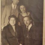 La famiglia Sonnino, per gentile concessione della famiglia