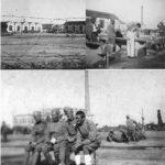 Vista d'insieme e foto di vita del campo per prigionieri di guerra n. 62 noto come Grumellina, per gentile concessione di Giorgio Marcandelli