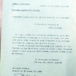 Comunicazione della GNR al Capo della Provincia dopo una retata, per gentile concessione dell'Archivio di Stato