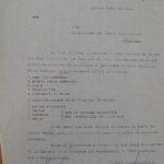 Pratiche relative alla riassegnazione dei beni della famiglia Levi di Ambivere, per gentile concessione dell'Archivio di Stato