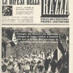 """""""La difesa della razza"""", 20 marzo 1939"""