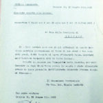 Rapporto della GNR al Capo della Provincia, circa l'irruzione all'Istituto Palazzolo di Torre Boldone, per gentile concessione dell'Archivio di Stato