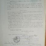 Documenti per la restituzione dei beni confiscati a Lisaveta Ghelfenbein, per gentile concessione dell'Archivio di Stato