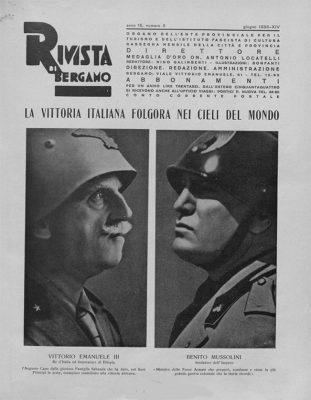 """""""La Rivista di Bergamo"""", giugno 1936"""