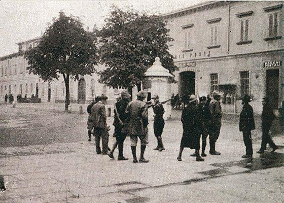 Bergamo, 28 ottobre 1922, l'assalto alle poste da parte di alcuni fascisti