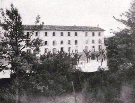 Il collegio Baroni, foto d'epoca