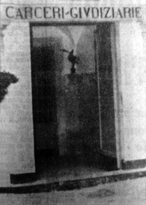 L'ingresso del carcere di Sant'Agata