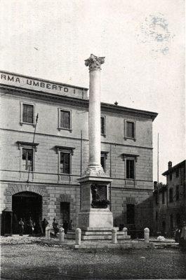 La caserma Umberto I