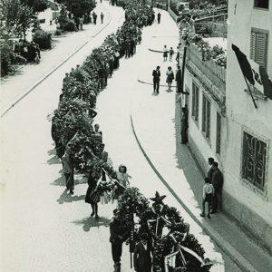 I funerali dei Tredici Martiri, Lovere 17 giugno 1945