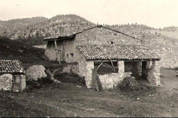 La Malga Lunga come era durante la guerra