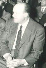 Fotografia di Ernesto Frigerio nei primi anni del dopoguerra