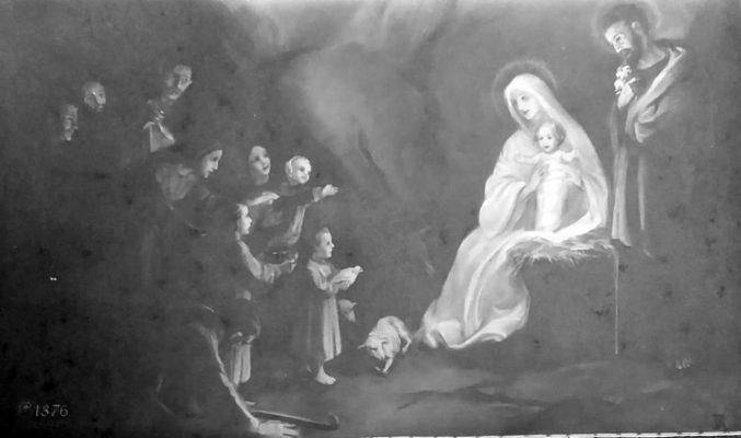 """Immagine votiva con un ultimo saluto per Betty Ambiveri firmato da dodici donne deportate perché """"ebree"""", per gentile concessione del Museo Mons. Guglielmo Carozzi (Seriate)"""