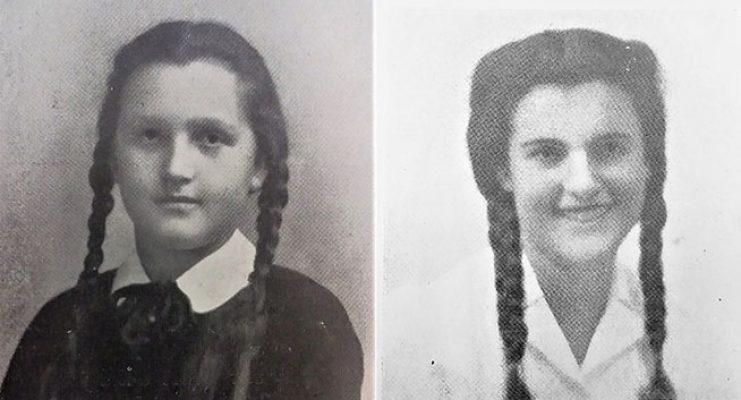 Da sinistra Rosanna e Elisabetta Bonomi, nipoti di Betty Ambiveri